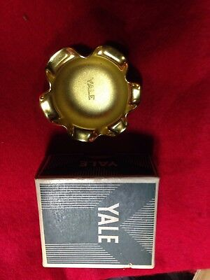Vintage souvenir tray Yale And Towne Brass