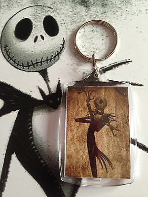 porte clé Sally et Jack - key ring Jack and Sally Nightmare two side