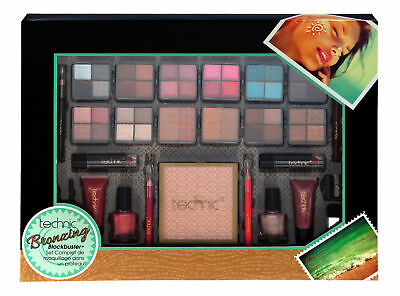 *jumbo* Technic Bronzing Blockbuster Set Bronzer Xmas Cosmetics Gift Make Up Kit