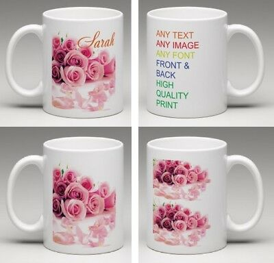 Personalised Mug Custom Tea Coffee Cup Your Text Image Logo Design HIGH QUALITY