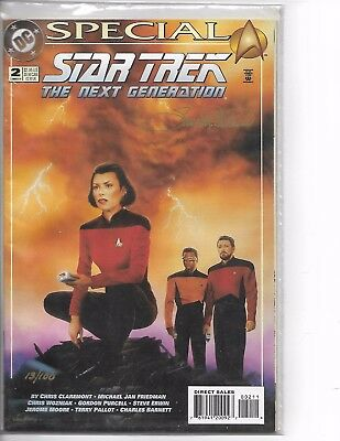 Star Trek Next Gen Special #2 1994, Limited Ed. Signed and Numbered W/COA