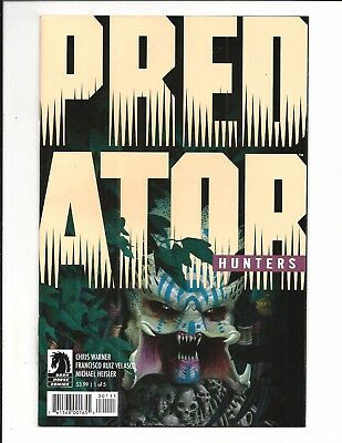 PREDATOR: HUNTERS # 1 (of 5) MAY 2017, NM NEW