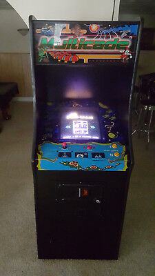 GALAGA MULTICADE Arcade Classics Cabinet Plays PAC MANS + DONKY KONGS + FROGGER