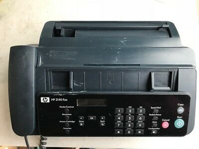 HP 2140 Plain Paper Inkjet Fax Machine w/ Built-In Phone - Free Shipping