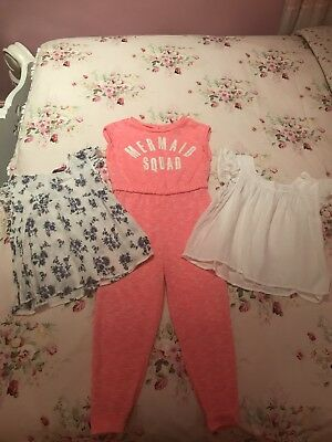 Girls Jumpsuit And Top Bundle 5-6 Years