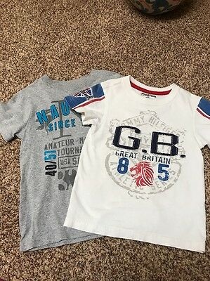 Tommy Hilfiger Boys Size 4 And NAUTICA Size 4 Shirts. Excellent Condition!!!!