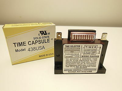 ARTISAN time capsule model 438USA solid state 24-240V timer