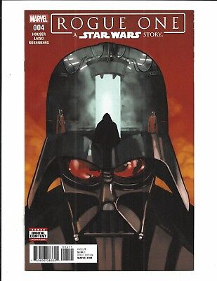 ROGUE ONE: A STAR WARS STORY # 4 (Marvel Comics, SEPT 2017) NM NEW