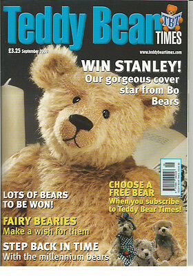 TEDDY BEAR TIMES Magazine - Issue no. 80 (dated September 2000)