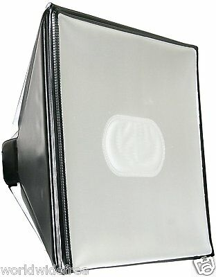 NEW Zeikos ZE-LD18 Professional Deluxe Universal Soft Box Diffuser
