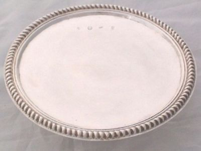1694 William & Mary Solid Silver Tazza by 'DB'
