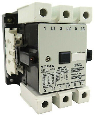 New  Aftermarket Replacement Contactor Fits Siemens Cn 3Tf46 22 480V Ac Coil
