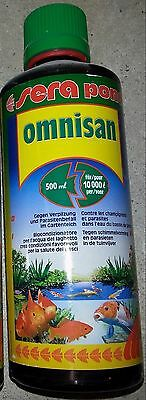 Produit desinfection sera pond omnisan  500 ML 10.000l