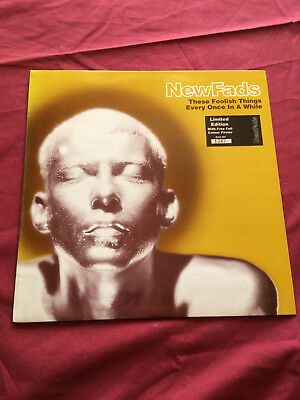 """NewFads - These Foolish Things 10"""" Single 1994 with Poster! Limited Numbered"""