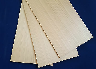 1 × Solid American Cherry wood Sheets 3mm,4mm,6mm or 8mm