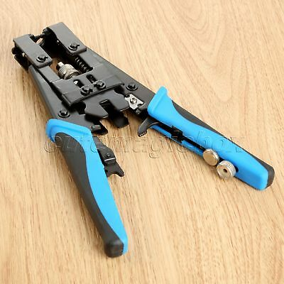 1 Pc Multifunctional Crimper Tool RG6 Coax Compression Crimping Connector New
