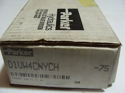 NEW PARKER D1VW4CNYCH -75 Directional Valve NEW 5000PSI  120V