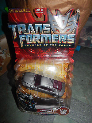 Transformers Revenge of the Fallen Sideways Action Figure NIP  RARE
