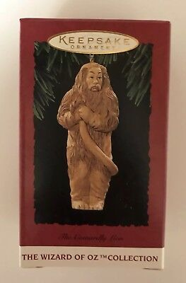1994 Hallmark Wizard of Oz The Cowardly Lion Keepsake Ornament QX544-6 NOS NIB