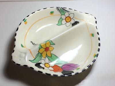 "Burleigh Ware ""Fragrance "" divided candy dish"
