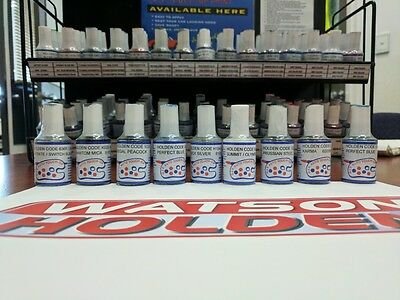 Touch Up Paint Holden ANY COLOUR 15ml Commodore SSV HSV Cruze Astra