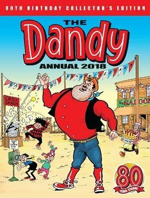 The Dandy Annual 2018 (Annuals 2018) Hardcover(Join the whole gang)brand new