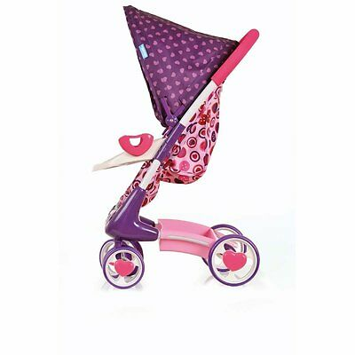 Baby Hauck Puppen-Set 2 in 1 Tour - Heart 2 Heart Buggy for New Born Babys