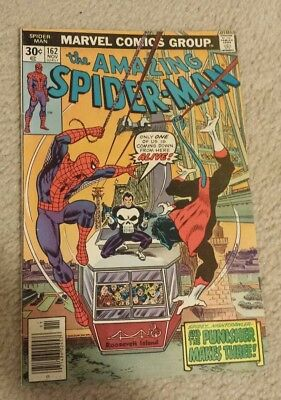 The Amazing Spider-Man #162 First Appearance of Billy Russo/Jigsaw