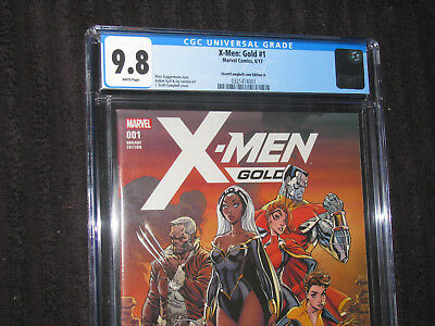 X-Men Gold #1 CGC 9.8 NM/MT Campbell A 3240 made