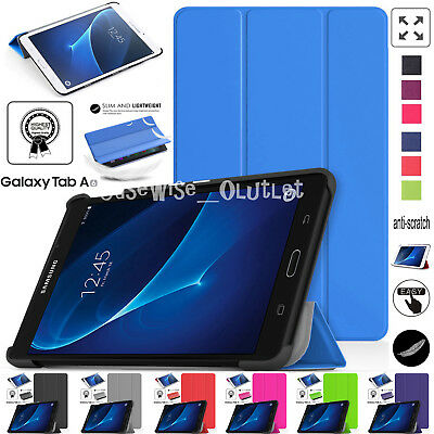 """Smart Stand Case Cover Samsung Galaxy Tab A6 2016 10.1"""" T580 T585 & 7"""" T280 T285"""