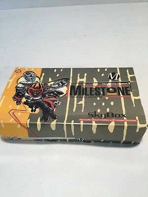 1993 Skybox DC Milestone Trading Card Box 29 Packs Factory  Box