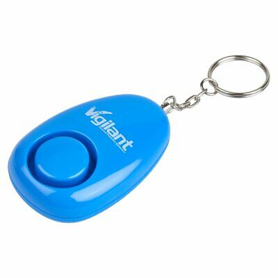 Vigilant 125Db Commercial Series Personal Alarm With Keychain Grenade Style Pin