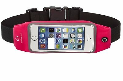 """STARWOODSPORTS Running Belt for iPhone 6S/6 or 6 Plus (5.5 """") PINK - SALE !!"""