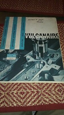 Vintage Vulcan Vulcanaire tooling catalog parts and instruction