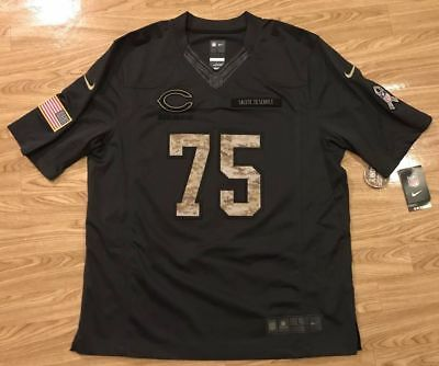 online retailer 8f93b e3301 AUTHENTIC CHICAGO BEARS Kyle Long 75 Jersey Camo Salute to Service NWT XL