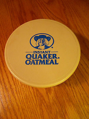 Vintage 1988 Instant Quaker Oatmeal Bowl With Lid  Usa Whirley Warren Pa