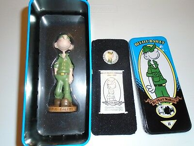 BEETLE BAILEY dark horse syroco figure in tin, limited, mort walker