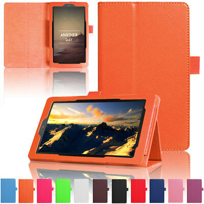 Stylish Flip Leather Smart Case Cover For Amazon Kindle Fire HD 10 2017 7th Gen