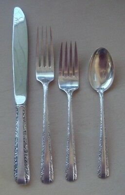 @ Towle Candlelight Sterling Silver Four Piece Setting