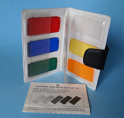 Rare! OLYMPUS color filter set for T32 flash