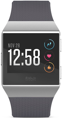 NEW Fitbit 3709173 Ionic Blue Grey/Silver