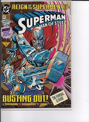 Superman The Man of Steel  # 22 Reign of the Supermen