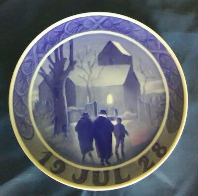 1928 Royal Copengagen collector plate