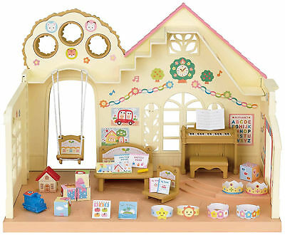 Sylvanian Families Forest Nursery House Baby Dolls Toys Play Area Accessories