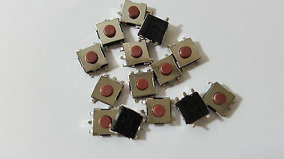 MICROSWITCH,TACTILE TACT SWITCH 5pin 12V PACK OF 20 SIZE 6X6X3.1 MM