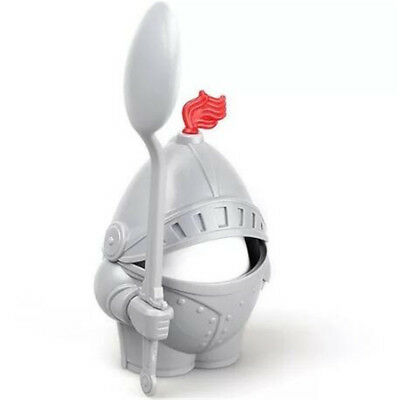 Boiled Egg Cup Holder 1 Arthur Knight with ABS InShining Armour&Eating Spoon
