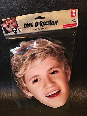 All Our Masks Pre-Cut!! Niall Horan V2 Celebrity One Direction Card Face Mask