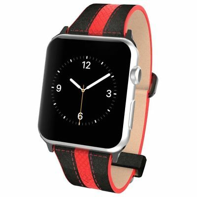 Poetic Apple Watch 38mm Replacement Band [Volante] Black [ 15 pieces / lot ]