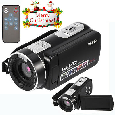 "3"" LCD 1080P HD 24MP Digital Camera 16X ZOOM IR Night Vision DV Video Camcorder"