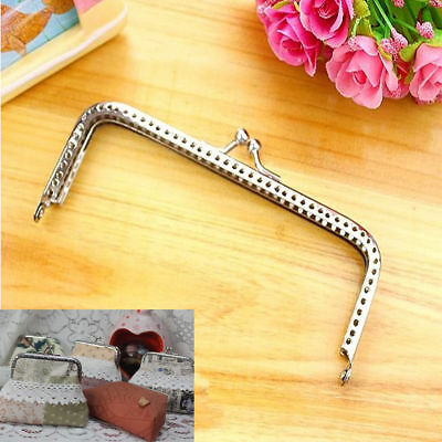 New Products Handle Sewing Purse Handbag Coins Bags Metal Kiss Clasp Frame 15cm
